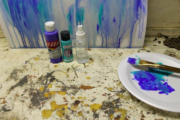 Canopy Life Deep Roots Lesson Plan: GOODNESS (as taught through drip painting)