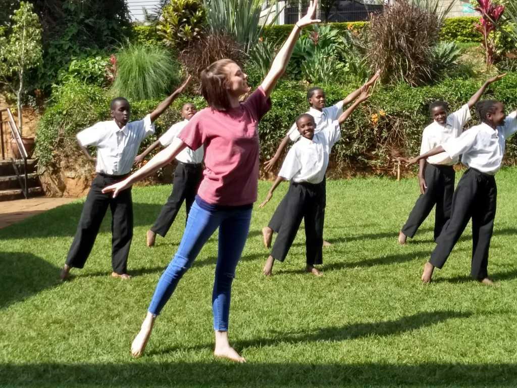 Abi Mason teaches Canopy Life ballet