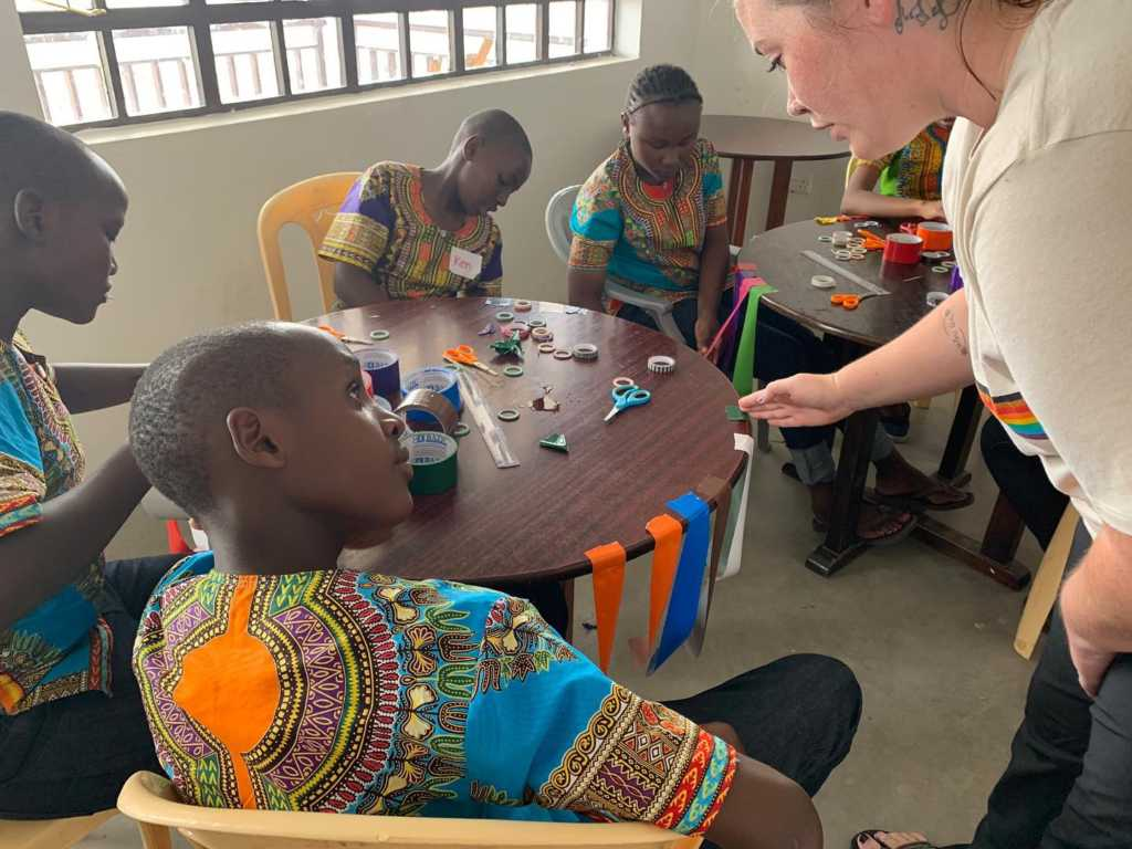 mission trip to Africa activities